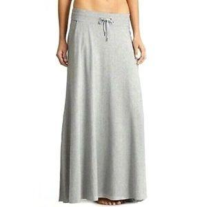 Athleta Grey Pura Vida Maxi Skirt with Pockets